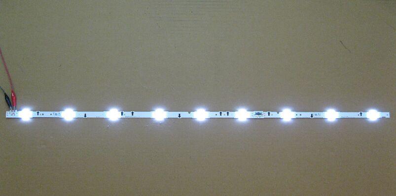20pcs New!! LM41-00041N + LM41-00041P LED-strip For Panel CY-GH040BGLV1H For Samsung 10pcs 3LED+10pcs 6LED