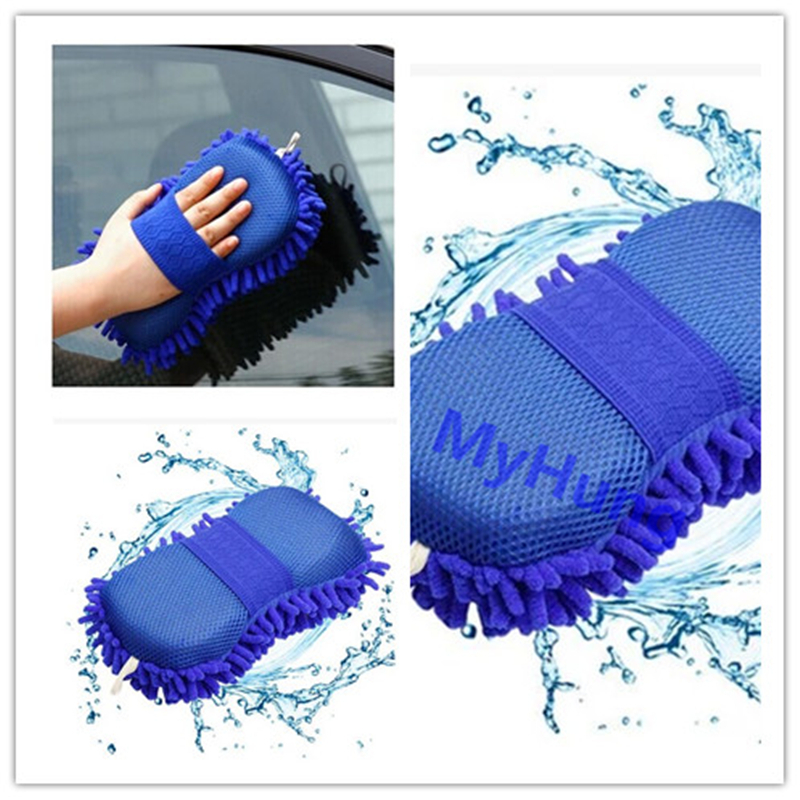 Car Washer Supplies wash Gloves wash sponge for all the car 5 colour to choose 1pc per set