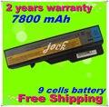 Jigu 9 células bateria do portátil para lenovo ideapad g465 e47g e47l G470 G475 G560 G565 G570 G780 G770 V360 V370 V470 V570 Z370