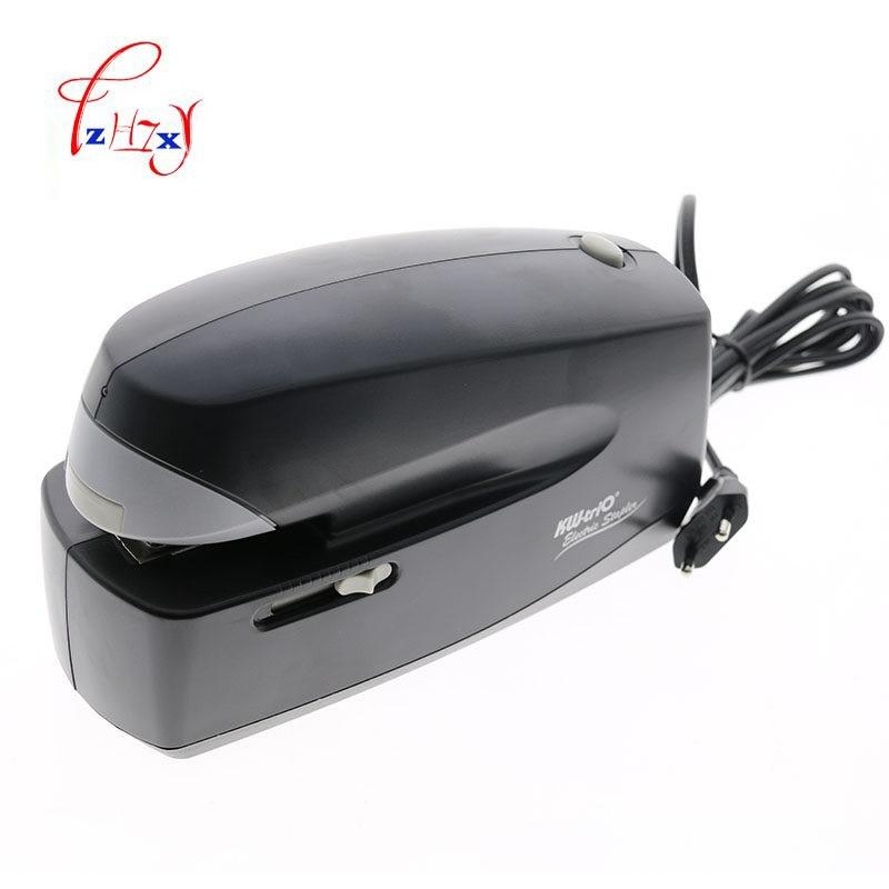 цена на automatic electric stapler paper binding machine office school stationary Office Binding Supplies 1PC