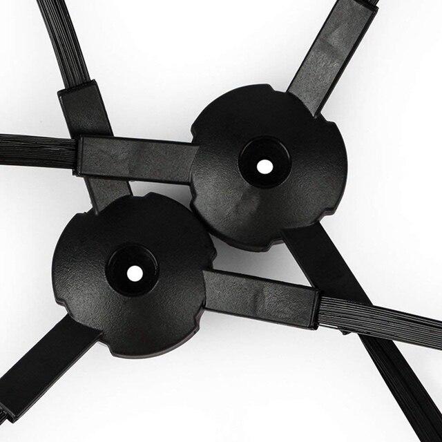 6 * brosse latérale + 6 * filtre HEPA accessoires pièces pour CHUWI ilife v5s v5 x5 ilife V3s v3s pro v3l v5s pro v50 robot aspirateur