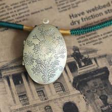 2 шт оптом античная бронза 24*41 мм Овальный фото медальон пустой