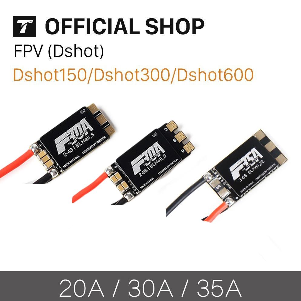 T-MOTOR Tmotor F30A 4S F35A 6S F35A 2-6S F45A 4 In 1 FPV ESC BLHeli_S 32 Bit Dshot 1200 Brushless ECS For FPV Spare Parts Accs
