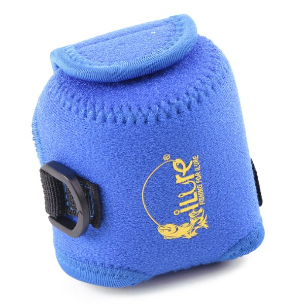 ILURE Right hand armor water droplets round wheel bag strong thunder drums color: blue Size: S