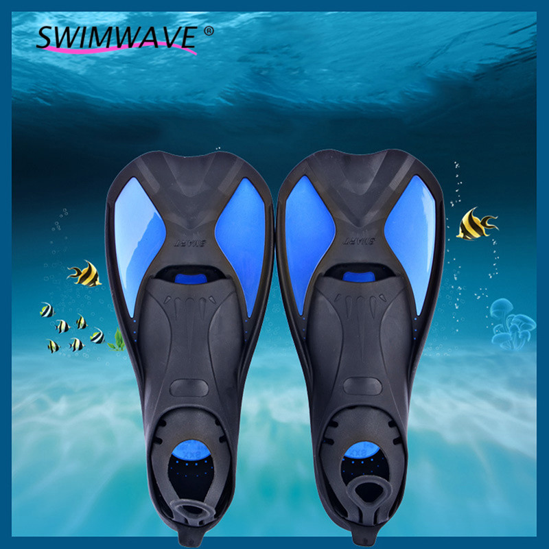 ФОТО 1 Pair Professional Adult Lightweisght Adjustable Submersible Long Fins Shoes Snorkeling Dive Foot Swimming Flipper Diving Fins