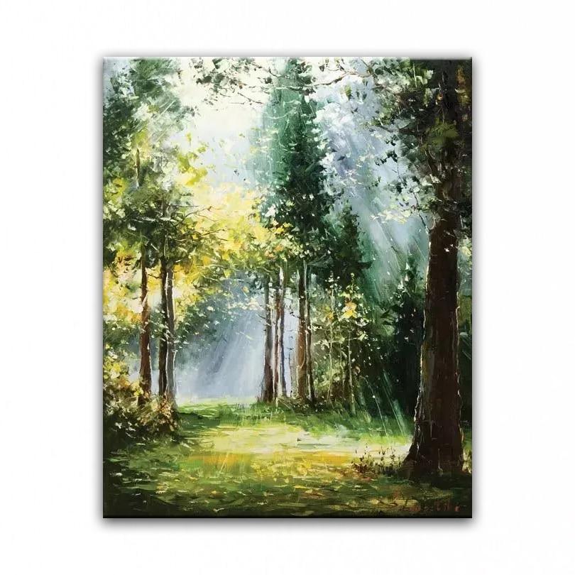 Картинки живопись природы маслом высокого разрешения
