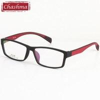Chashma TR 90 Eyewear Phong Cách Thể Thao Kính Quang Học Khung Nam Giới và Phụ Nữ Mắt Đen Kính
