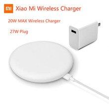 Оригинальное Беспроводное зарядное устройство Xiaomi, макс. 20 Вт для Mi 9 (20 Вт) MIX 2S / MIX 3 (10 Вт), совместимый с Qi EPP сотовый телефон (5 Вт), несколько