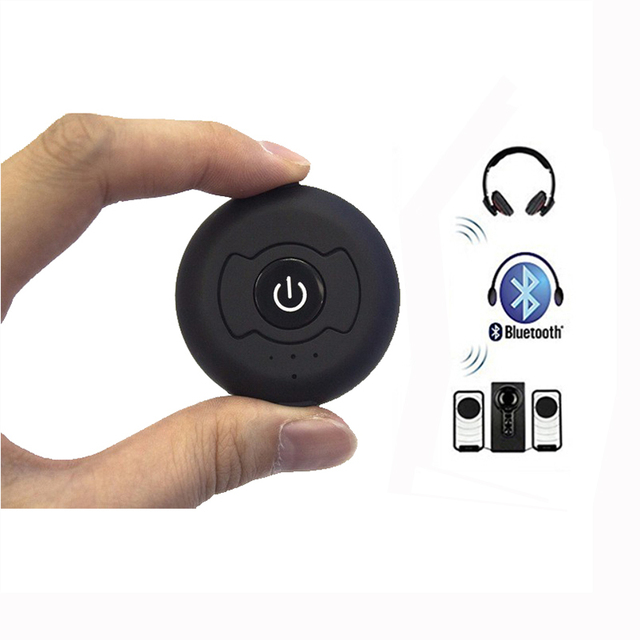 Bluetooth 4.0 マルチポイントステレオオーディオトランスミッター音楽信号送信スマートテレビ/DVD/MP3 Can ペア 2 ヘッドフォン 1 時間