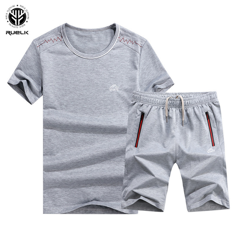 Summer Mens Polos Set Tracksuit 2019 Casual Sportswear