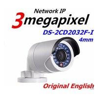 Hikvision 3MP HD IP Camera Original English DS 2CD2032F I True Day Night Low Illumination Video