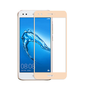 Image 3 - Para Huawei P9 Lite Mini vidrio templado 9H 3D cubierta de pantalla completa película protectora de pantalla a prueba de explosiones para Huawei P9 Lite Mini