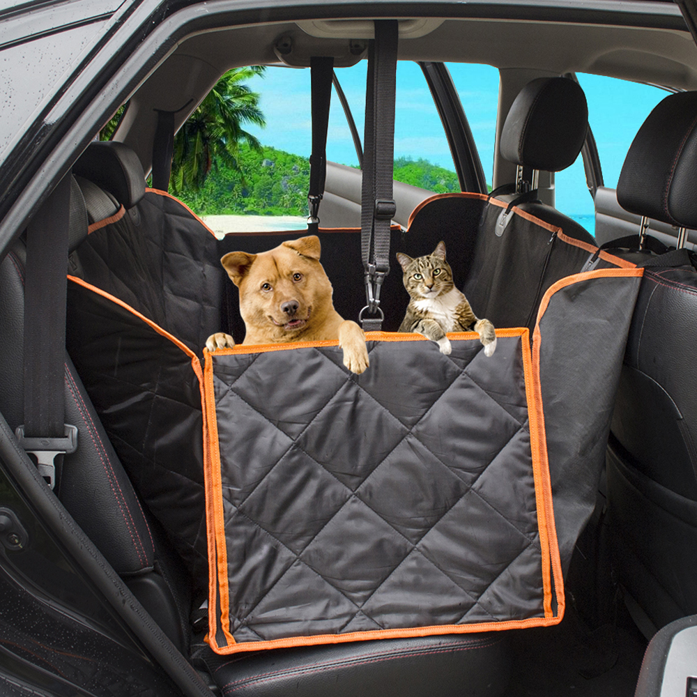 1pc Waterproof Pet Dog Car Seat Cover Pad Pet Rear Seat Cushion Mat Blanket Hammock Safe Dog Car Seat Back Foldable Protector A Wide Selection Of Colours And Designs Interior Accessories