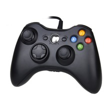 New Arrived High Quality USB Wired Controller Joypad Joystick For Microsoft Xbox 360 PC Game Replacement Gamepad Best Gift