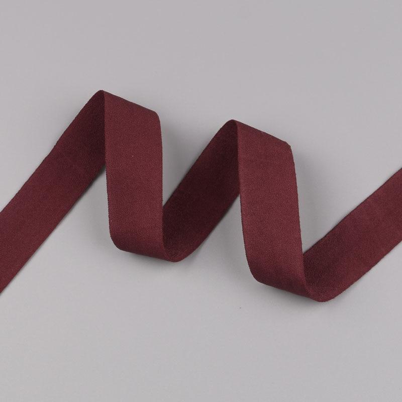 5 ярдов/Лот 20 мм ширина 34 цвета эластичная лента использование для diy аксессуары и одежда галстук лента для волос - Цвет: 27