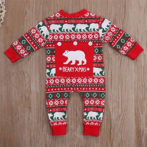 New Christmas Newborn Baby Boy Girl Clothes Xmas Romper Jumpsuit One-pieces Infant Winter Clothing Outfit хорхе болетт orchestre symphonique de montreal шарль дютуа charles dutoit chopin piano concertos 1