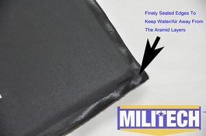 Image 4 - MILITECH 10 x 12 & 6 x 6 Inches Pairs Aramid Ballistic Panel Bulletproof Plate Body Armour NIJ Level 3A 0101.06 &NIJ 0101.07 HG2