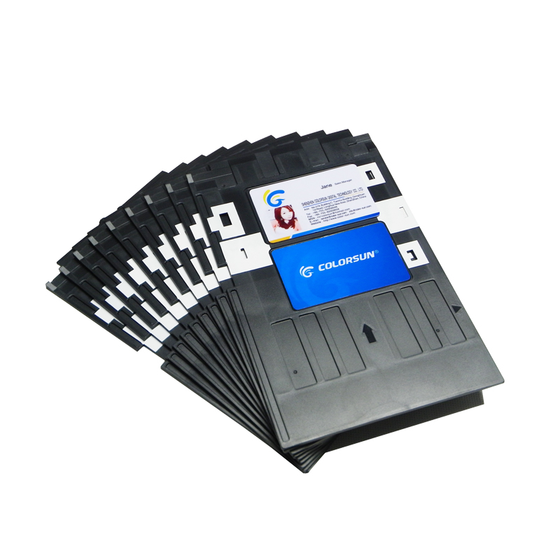 R330 L800 L801 To Ensure Smooth Transmission Printer Supplies Inkjet Pvc Id Card Tray Plastic Card Printing Tray For Epson P50 T60 R90 R330 R390 Printer Parts