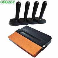 High Efficient Magnetic Holder Suede Squeegee For Car Wrapping Strong Gripper Magnets For Vinyl Wrapping Car
