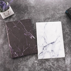 QUWIND Hard Marble Pattern PC Material Support Protective Cover Case For iPad Air 1 2 Mini 1234 iPad 234 iPad 2017 2018 9.7inch