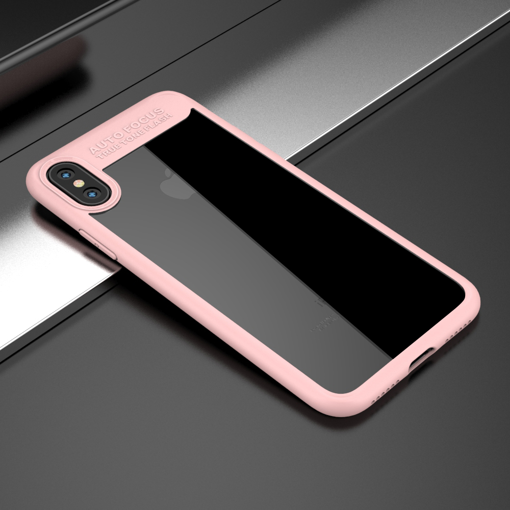 new concept a17ee a9946 US $4.29  Full Protective Case For iPhone X iPhone 10 2017 New Arrivals  Silicone Cover Ultra Slim Transparent Phone Cases PC&TPU Fundas-in Fitted  ...