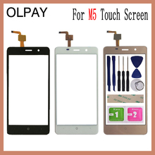 5.0For Leagoo M5 Touch Screen Digitizer Panel Repair Parts Touchscreen Front Glass Lens Sensor Free Adhesive and wipes