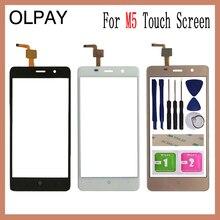 5.0 for for para leagoo m5 tela de toque digitador do painel peças reparo touchscreen lente vidro frontal sensor livre adesivo e toalhetes