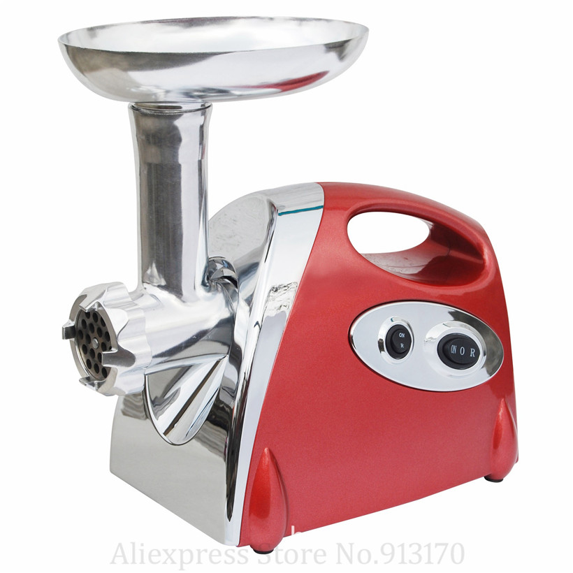 Electric Meat Grinder Kitchen Mincer 800W Sausage Stuffer 3 Cutting Plates Sausage Topper Attachment Metal GearsElectric Meat Grinder Kitchen Mincer 800W Sausage Stuffer 3 Cutting Plates Sausage Topper Attachment Metal Gears