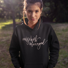 I Solemnly Swear That Am Up To No Good Hoodie Mischief Managed Hoodies Sweet Graphic Women Long Sleeve Pullover