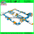 Hot sale inflatable commercial water park,inflatable floating water parkKids Water Park Projects