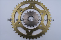 Motorcycle Sprocket 42 Teeth 530 Chain For Yamaha YZF R1 1998 2008 FZ1 2006 2008 2009 2010 2014 Rear and Front Sprocket
