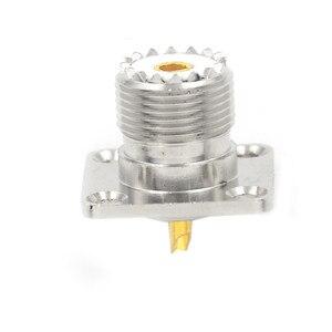 10 x Женский SO239 панель шасси крепление фланец палуба крепление припоя чашки RF разъем оптовая продажа