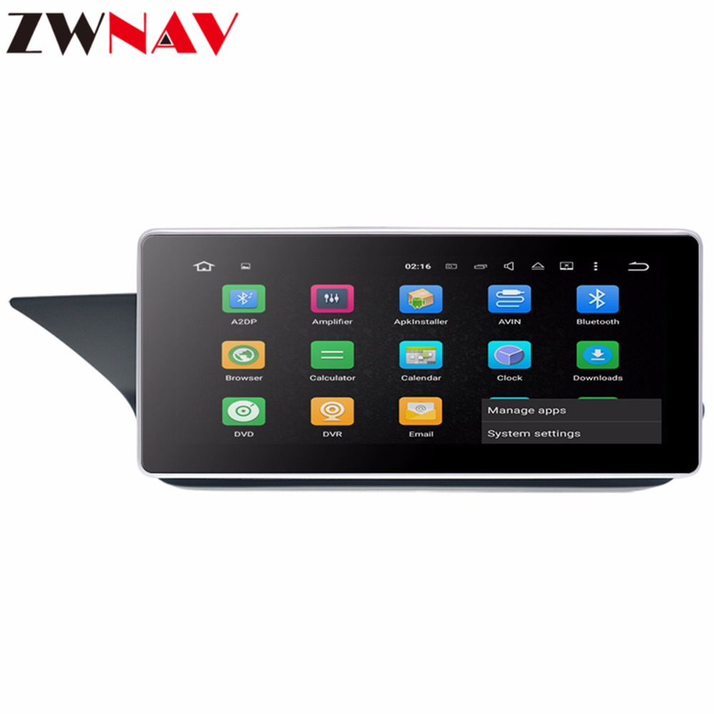 <font><b>Android</b></font> 8.0 Car multimedia player Head unit For MERCEDES-<font><b>BENZ</b></font> E220 <font><b>W212</b></font> 2010-2016 Car GPS Navigation Radio stereo with Octa Core image