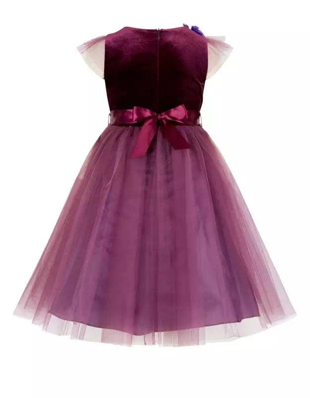 MONSOON New Autumn Children Wedding Dress Baby Girls Dresses Kids ...