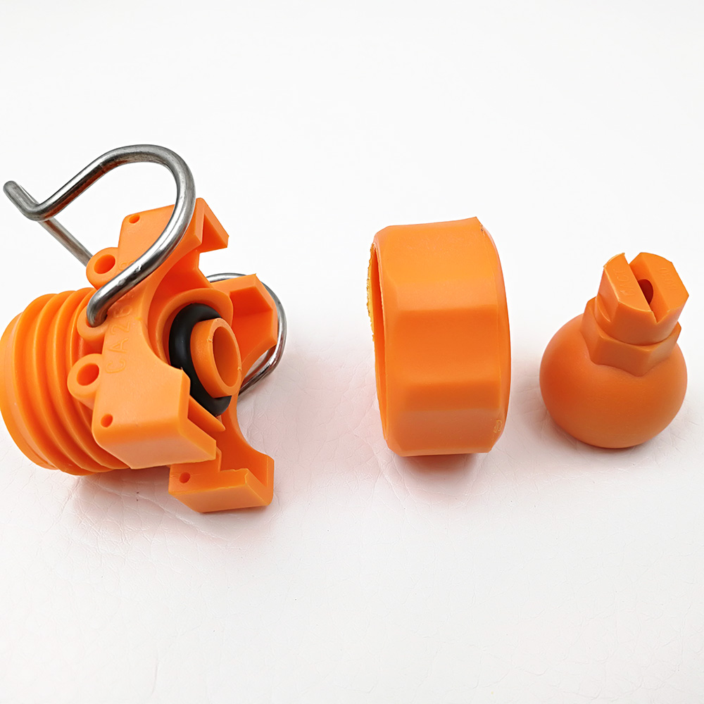 26988 Adjustable Ball Plastic Pipe Clamp Spray Nozzle