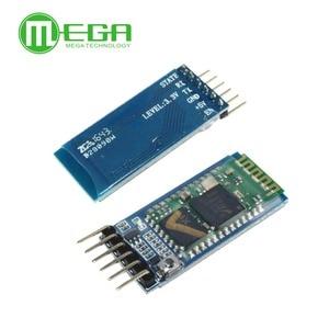 Image 2 - Orignal 5 개/몫 hc05 JY MCU 역방향, 통합 블루투스 직렬 통과 모듈, HC 05 마스터 슬레이브 6 핀