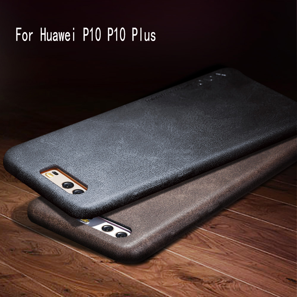 PU Leather Phone Case For Huawei P10 P9 P8 Lite Plus Business Luxury Back Cover Retro Style Cases Popular Coque