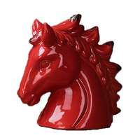 Ceramic Horse Home Decoration Luxury Europe Resin Gift For Wedding Creative Christmas Valentine's Day Birthday The Most Fun Toys