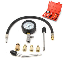 Petrol Gas Gasoline Engine Cylinder Compression Tester Auto Automobile Pressure Gauge Tools