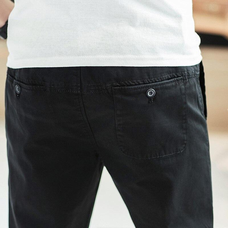 Весна и осень новые продукты Мужская обувь в Корейском стиле с круглым носком Для Мужчин's Повседневное Оксфорд Обувь кожа золотистой вышив... - 5
