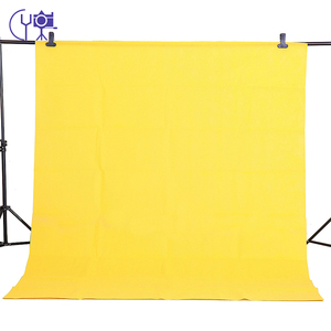Image 4 - CY In stock 1.6x3m yellow Cotton Non Woven Textile Muslin Photo Backgrounds Studio Photography Screen Chromakey Backdrop