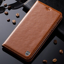 Case For Lenovo Z5 Z5s Z6 Pro Lite GT Case Genuine Leather Stand Flip Magnetic Phone Cover(China)