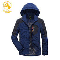 Field Base Brand Clothing Jacket Spring Autumn Men Coat Male Casual Style Jacket Men Waterproof Clothes