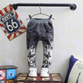 Kids Jeans for boys Children's Jeans Pants Children's Denim Trousers Baby Boy Harem Pants Spring Gradually Embroidered Jeans New