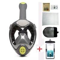 Antifog Full Face Snorkel Mask Scuba Diving Mask Professional Scuba Mask Underwater Fishing Hunting Scuba Diving Equipment