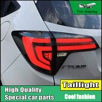 Car Styling Dynamic Turn Signal Tail Lights For Honda HRV HR V 2015 2016 Taillight LED