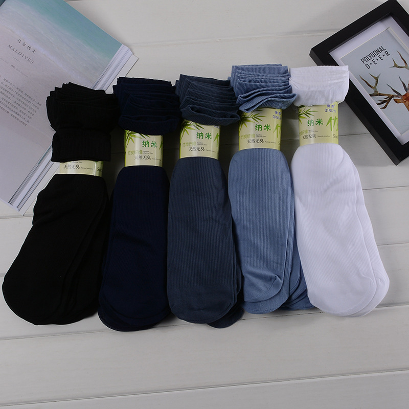 Men's Socks Long Casual Bussiness Long Crew Socks Solid Color Casual Dress Socks Mens Meias Calsetines Hombre 10pairs/lot
