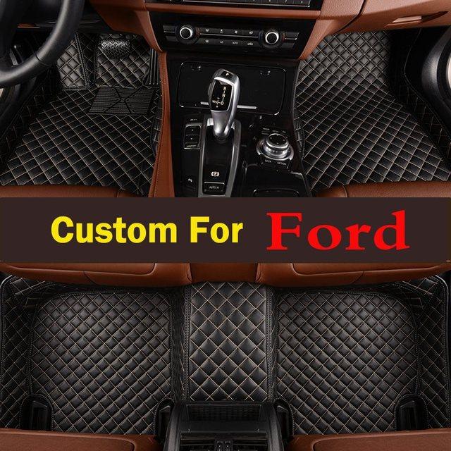Para 2012 2017 Ford Focus Tapetes Do Assoalho Do Carro