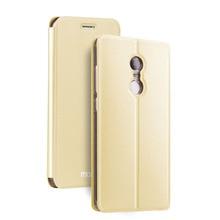 Xiaomi Redmi Note 4x Чехол Флип Искусственная кожа крышка MOFI оригинальный ультра тонкий Redmi Note 4x случае Роскошные золотые черный принципиально 4 x
