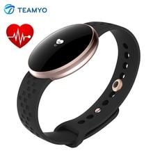 Teamyo B16 Heart rate monitor фитнес браслет Смарт pulsera inteligente Сна монитор шагомер спорт трекер Смарт полосы IP67